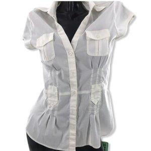 Mexx Pocket Sleeveless Blouse sz 34/ (4)